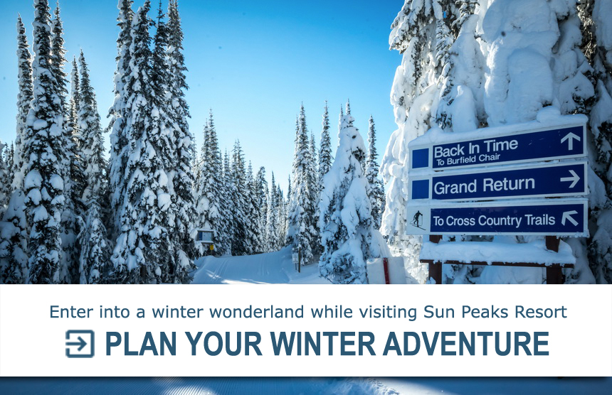 Sun Peaks Call to Action