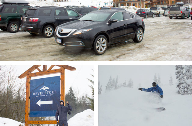 Revelstoke Mountain Resort, Acura Rocky Mountain Road Trip day 4