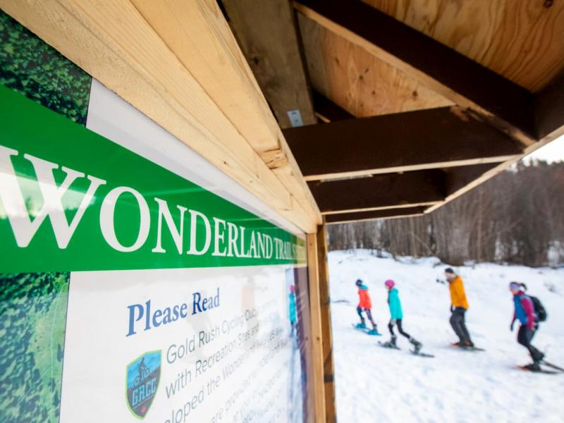 Wonderland trails winter Quesnel