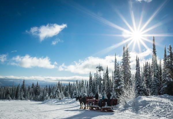 Big White Sleigh ride