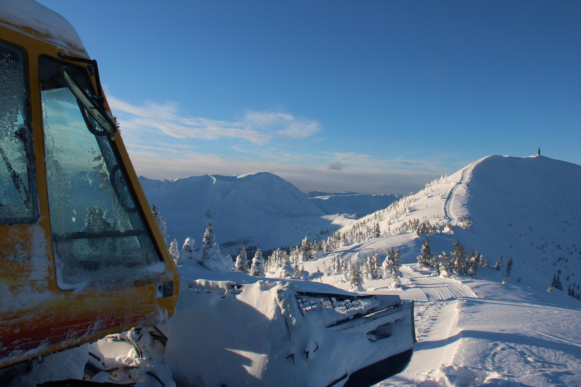 Skeena cat skiing
