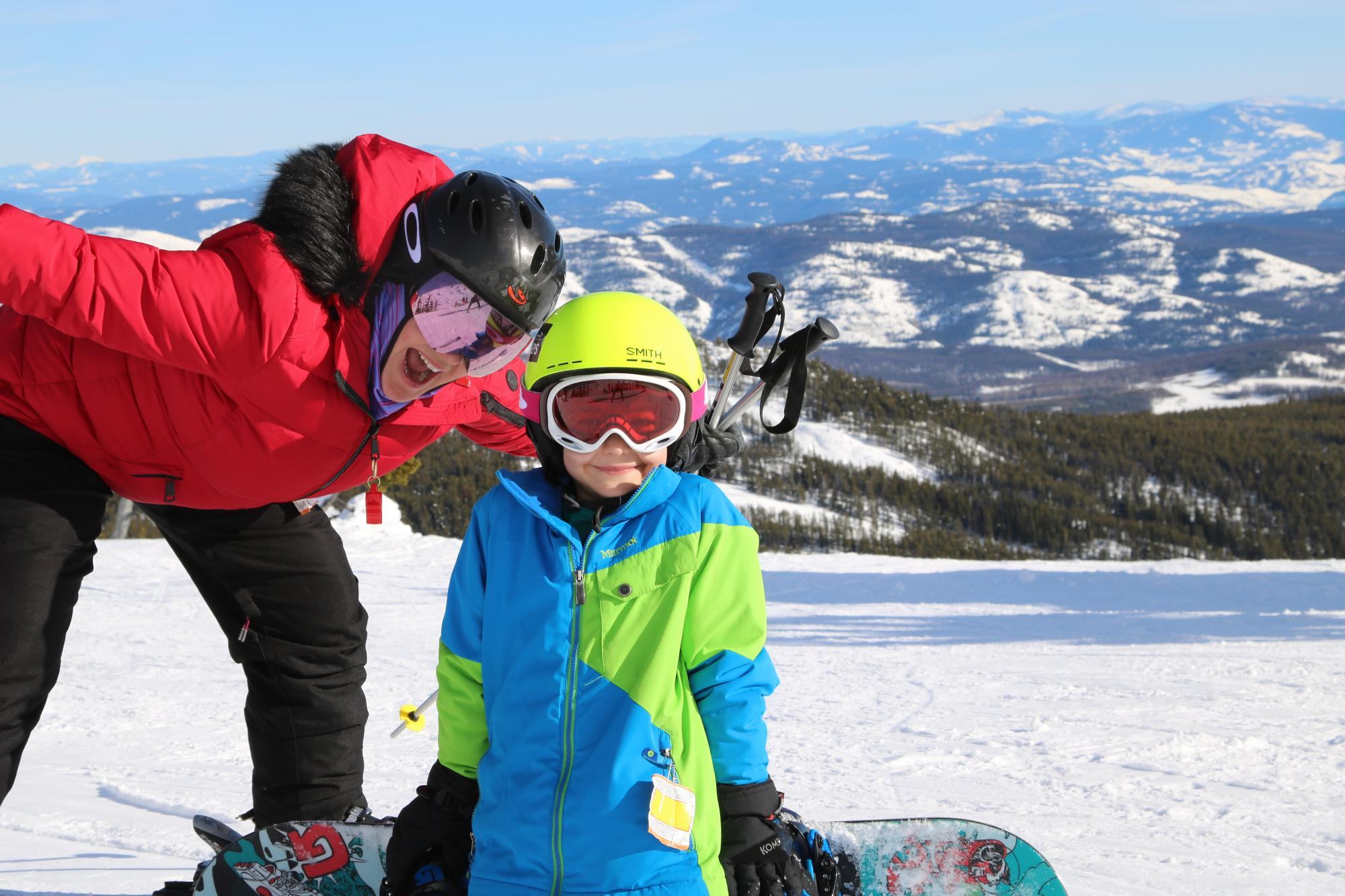 Skiing at Baldy Mountain Resort