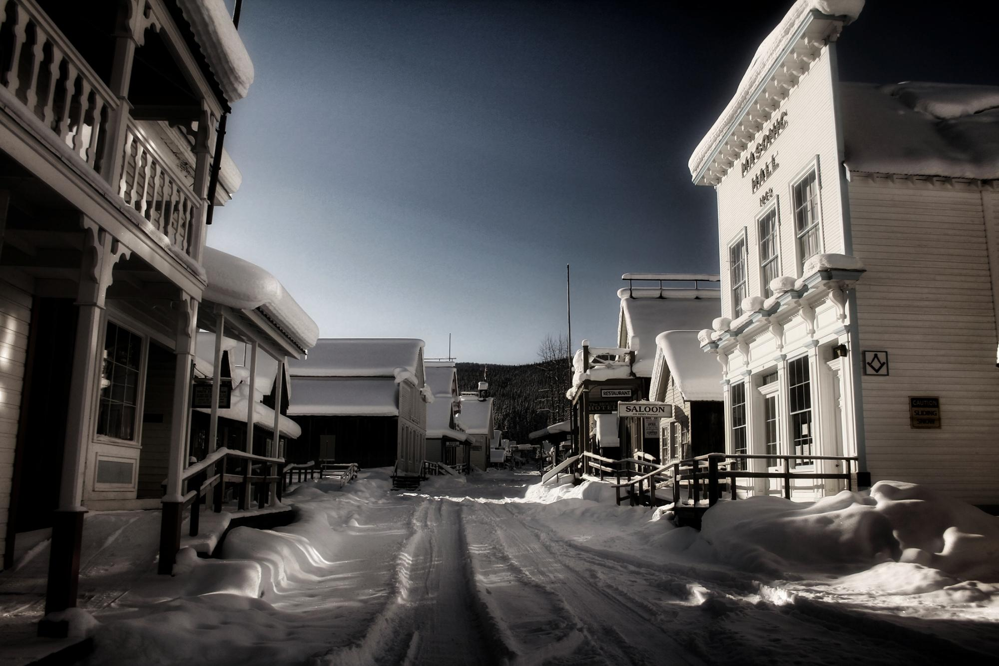 Downtown Barkerville