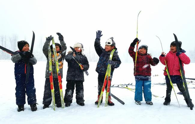 Spirit North Cross Country Skiing Indigenous Youth