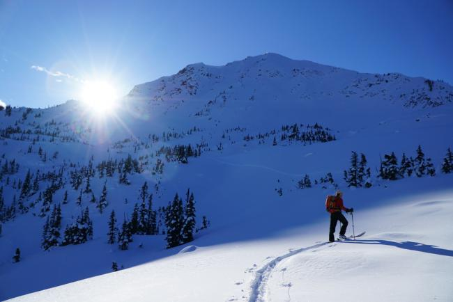 Smithers backcountry skiing